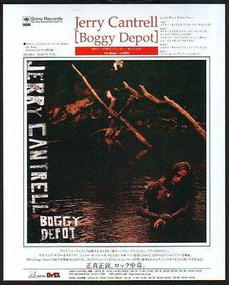 1998 Jerry Cantrell Boggy Depot JAPAN album promo print ad /Alice In Chains 5r