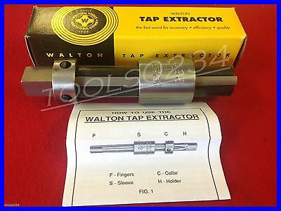 """New Walton 10252 1//4/"""" 6mm Tap Extractor 2 Flute Free Shipping  USA MADE"""