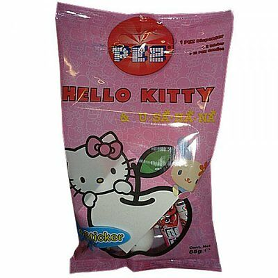 HELLO KITTY & Usahana PEZ Bag Dispenser/Stickers/Candy/Refill/Collectible SANRIO