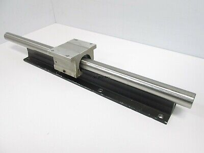 "Thomson SPB-16-OPN Linear Bearing with Rod, 1"" x 21"" Rod, 3.25"" x 2.63"" Carriage"