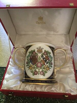 Stunning Spode The Royal Wedding Loving Cup -  Boxed Ltd Ed . Royal Wedding 1981