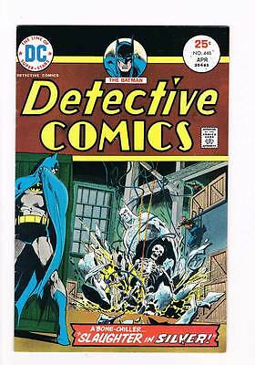Detective Comics # 446 Slaughter in Silver! grade 7.5 hot scarce DC