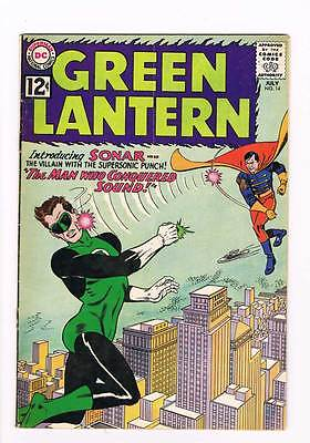 Green Lantern # 14 The Man Who Conquered Sound! Kane Cover! grade 5.0 DC!