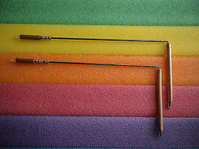 DOWSING RODS, CHAKRA'S ENERGY, CRYSTALS, HEALING, COPPER HANDLES, GHOST HUNTING