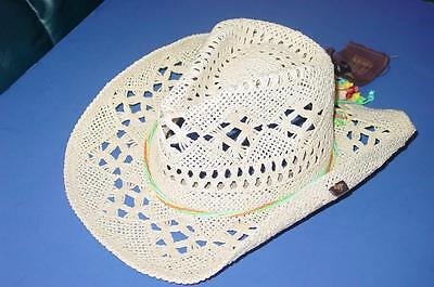 New Licensed Peter Grimm Womens Ariel Wire Form Cowboy Hat TOO CUTE! LAST ONES!
