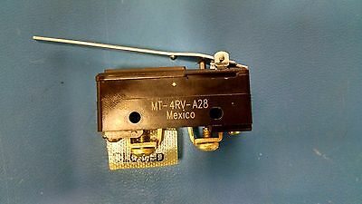 MT-4RV-A28 Honeywell Switch Snap Action SPDT Roller Lever 10A 128V MT4RVA28