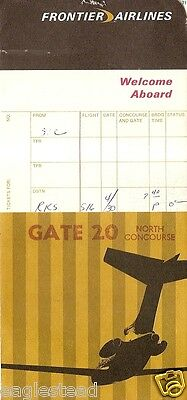 Ticket Jacket - Frontier - B727 cover - Black White Gold - 3 Flight  (J1885)
