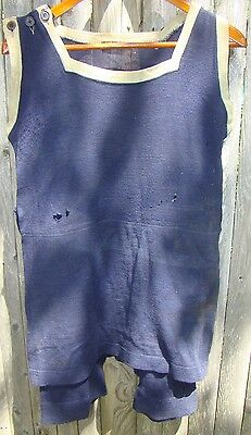 Antique Wool Bathing Suit Capitol Brand the WILEY BICKFORD SWEET CO.