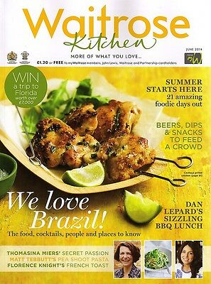 Waitrose Kitchen Magazine - June 2014