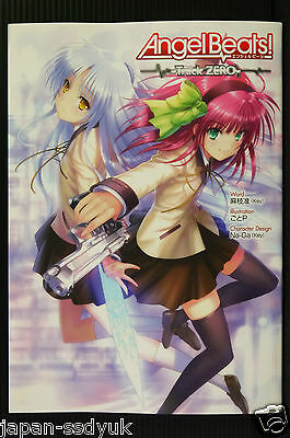 JAPAN Angel Beats Track Zero Jun Maeda Key GotoP art book