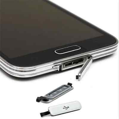 1PC Dust WaterProof USB Charger Dock Port Plug Cover For Samsung Galaxy S5 i9600