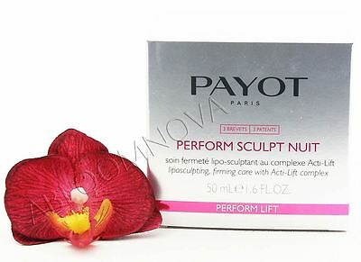 Payot Perform Sculpt Nuit - Liposculpting, Firming Care 50ml