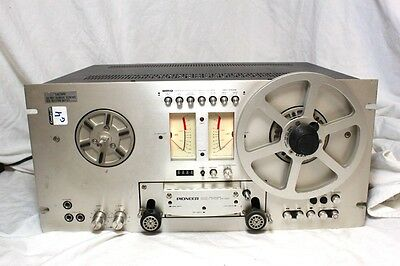 Vintage Pioneer RT-707 4-Head Direct Drive Reel to Reel Stereo Cassette Recorder