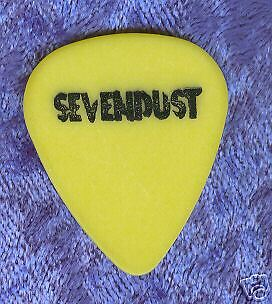 SEVENDUST 1999 Home Tour Guitar Pick!!! custom concert stage Pick