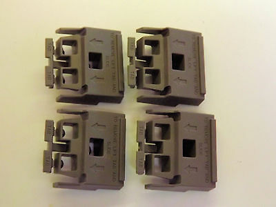 Set of 4 Dark grey feet - replacement for  HP/AT 5041-8801 MADE IN USA - NEW