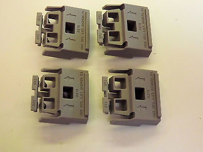 Set of 4 light grey feet - replacement for  HP/AT 5041-9167 Instrument Feet NEW