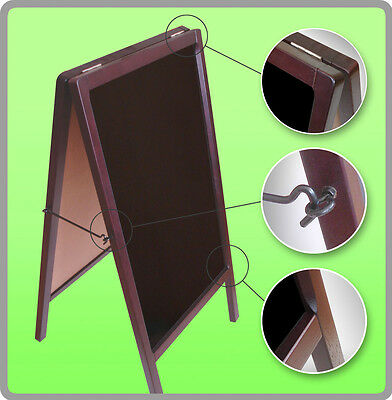 A-Frame MARKER BOARD Sidewalk Restaurant Menu Board Double Side Pavement Sign
