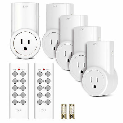 Etekcity Wireless Remote Control Electrical Light Outlet Switch(1, 3, 5 Pack)