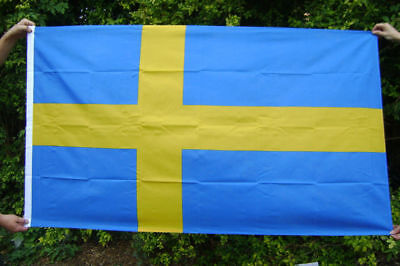 NEW 5 x 3 FOOT SWEDEN SWEDISH SVERIGE FLAG