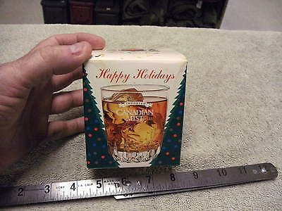 Canadian Mist  Glass Tumbler  from 1998/99, Unused still in the Box