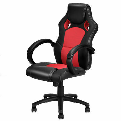 High Back Executive Office Chair Race Car Style Swivel Gaming Chair Bucket Seat