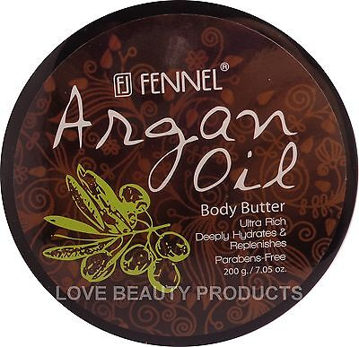 Fennel Argan Oil Body Butter  200gm - For Normal/Dry Skin