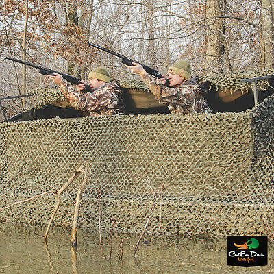 Banded Axe Boat Shore Combo Field Hunting Blind Long Camo Skin Net Timber