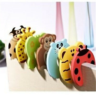 FD843 Safety Baby Door Stop Finger Pinch Guard Lock Jammer Stopper Protector