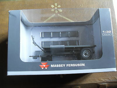 NEW massey ferguson diecast 3 ton trailer tipping bed & drop side AGCO 1;32 size