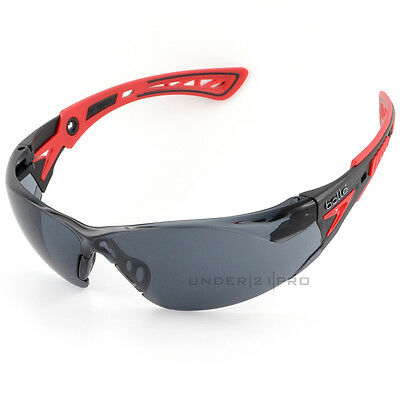 Bollé Safety Rush + RUSHPPSF Safety glasses sunglasses / Red PLATINUM
