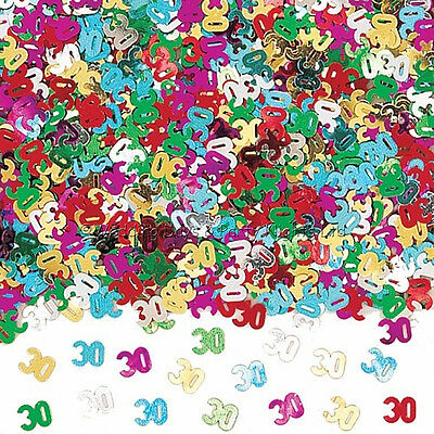 30th Birthday / Pearl Wedding Anniversary Party Table Confetti Decorations