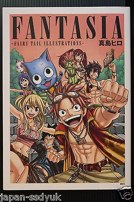 "JAPAN Hiro Mashima Art book: Fantasia ""Fairy Tail Illustrations"""