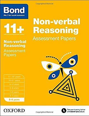 Bond 11+: Non Verbal Reasoning: Assessment Papers Bond  J. M. 9780192742209