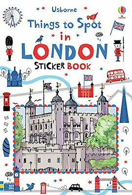 Things To Spot In London Sticker Book  9781409586050