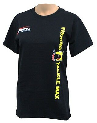 Tubertini FTM T-Shirt Schwarz ( Fishing Tackle Max ) Top Preis