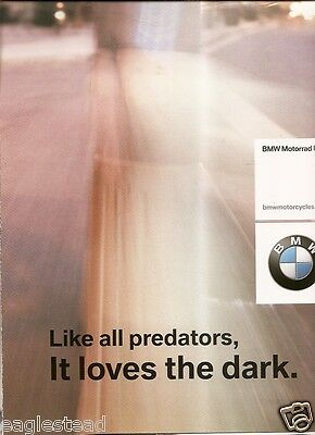 Motorcycle Brochure - BMW - R 1150 R Roadster Product Line Poster 2003 (DC378)