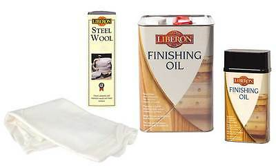 Liberon High Quality Finishing Oil ALL the Sizes 250ml, 500ml 1 Litre & 5 Litre