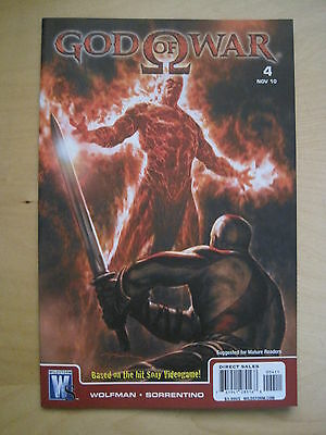 GOD of WAR 4. BASED ON THE SONY VIDEO GAME. By WOLFMAN & SORRENTINO.DC / WS.2010