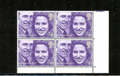 (Lot 17103) Mint Nh  707 Gb : 1973 Wedding Of Princess Ann And Mark Phillips