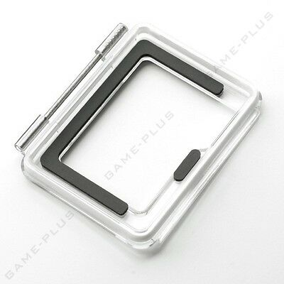 New Back Open Skeleton Backdoor Case Cover for GoPro Hero 4 Silver Touch Display