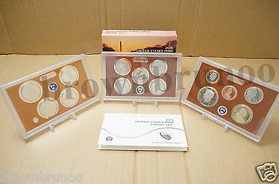 2015-S United States Mint Proof Set Cameo 14 Pc Coins Kennedy ATB $1 Dime Penny