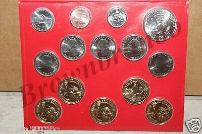 2015-D United States Mint Uncirculated Coin Set 14 Coins DENVER Mint w/ COA