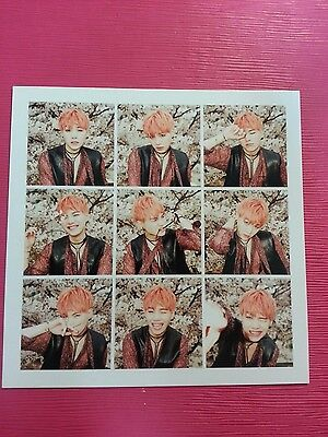 BTS SUGA Official PHOTOCARD 3rd Album IN THE MOOD FOR LOVE Photo Card ITMFL 슈가