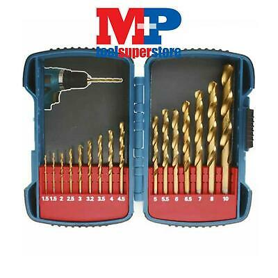Makita P-51873 Titanium Plated Hss Drill Set 1.5-10Mm In Carrying Case