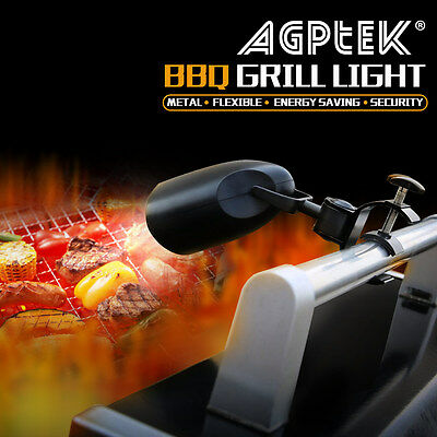 Barbecue Grill Light with 10 Super Bright LED Lights Handle Bar Mount BBQ Light