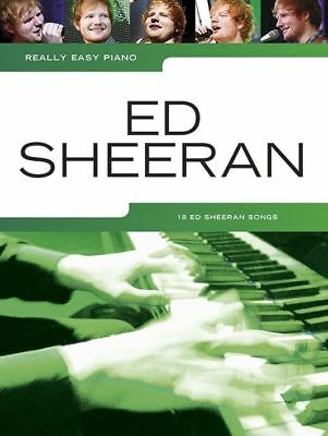 Ed Sheeran - Really Easy Piano Book *NEW* Music, Songs from + Plus & X Multiply