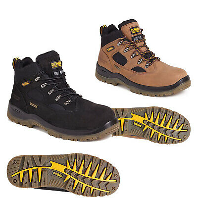 DeWALT Challenger Black S3 waterproof safety boots latest model Steel Toecap