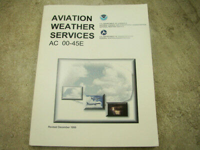 """""""Aviation Weather Services"""" - Paper Back Book"""
