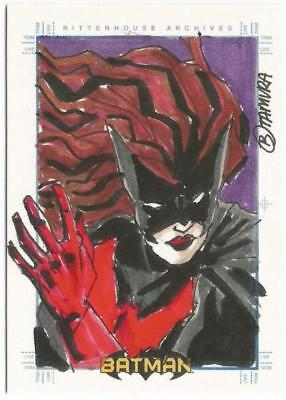 Batman Archives SketchaFEX Sketch Card drawn by Tamura