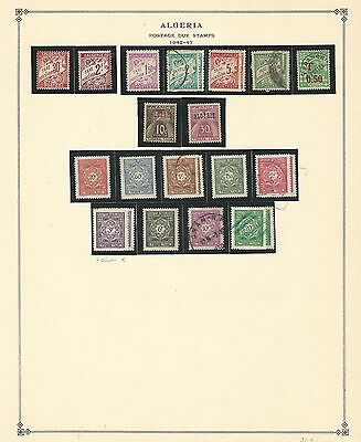 Algeria Collection 1940-1967 + BOB on Scott International Pages, 13 Pgs SCV $228